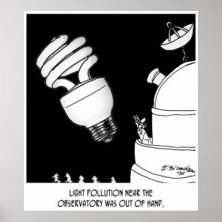 Dibujo animado 9209 de la astronomía póster