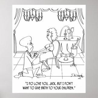 Dibujo animado 9337 del nacimiento póster