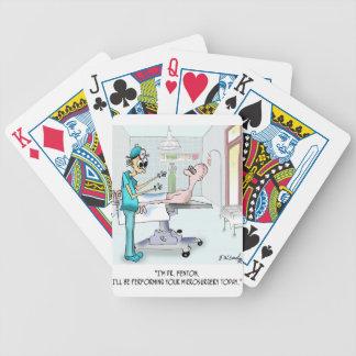 Dibujo animado 9369 de la cirugía barajas de cartas
