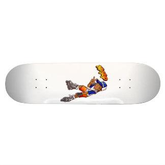 Dibujo animado adolescente del patinador de Hip Monopatin Personalizado