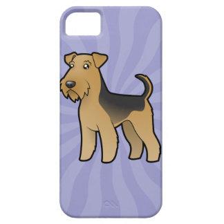Dibujo animado Airedale Terrier/Terrier galés Funda Para iPhone SE/5/5s