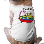 Dibujo animado amarillo de los patos de Labrador y Camiseta De Perro