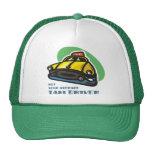 Dibujo animado amarillo del taxi: No su taxista me Gorro De Camionero