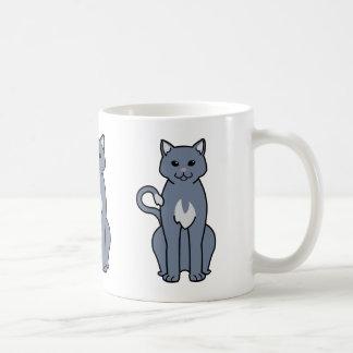 Dibujo animado americano del gato del Ringtail Taza De Café