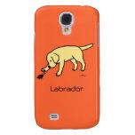 Dibujo animado amistoso Labrador del laboratorio a