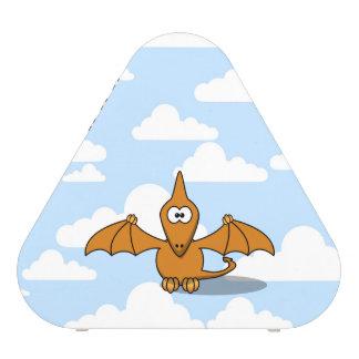 Dibujo animado anaranjado lindo del Pterodactyl Altavoz Bluetooth