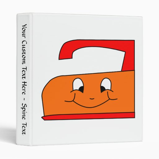 """Dibujo animado anaranjado y rojo del hierro. En Carpeta 1"""""""