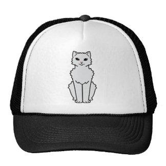 Dibujo animado ártico del gato del rizo gorro de camionero