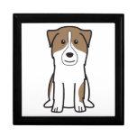 Dibujo animado australiano del perro de pastor caja de joyas