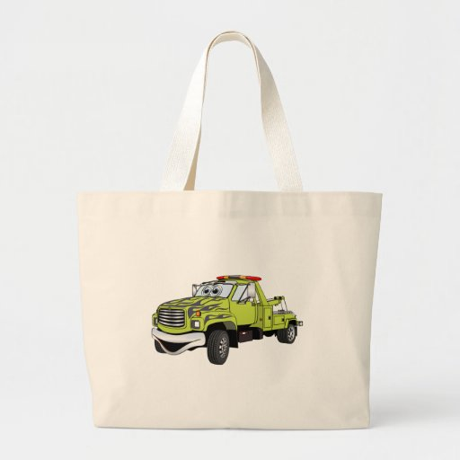 Dibujo animado azulverde de la grúa bolsas