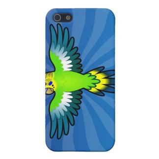 Dibujo animado Budgie/Parakeet iPhone 5 Carcasas