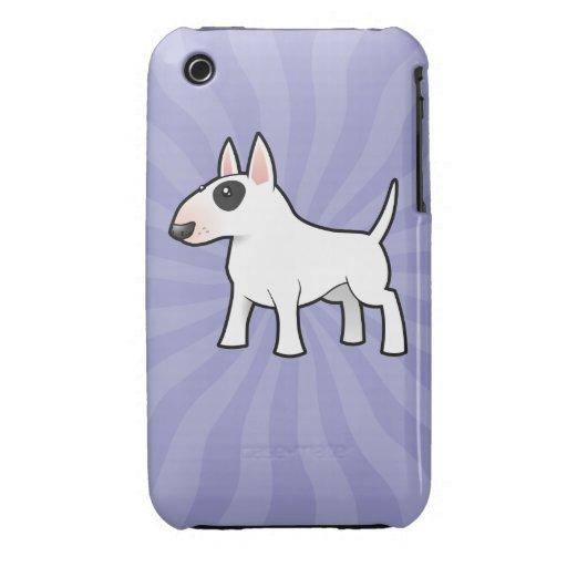 Dibujo animado bull terrier Case-Mate iPhone 3 protectores