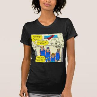 dibujo animado cerrado de la fábrica de 612 atunes camiseta