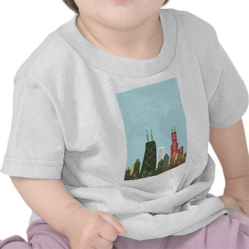 Dibujo animado Chicago Camiseta