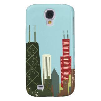Dibujo animado Chicago Funda Para Galaxy S4