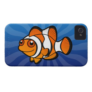 Dibujo animado Clownfish Case-Mate iPhone 4 Protector