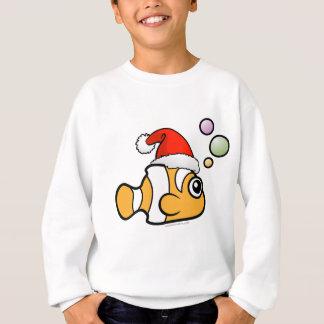 Dibujo animado Clownfish Santa Camisas