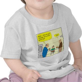 dibujo animado de 302 buen polis camisetas