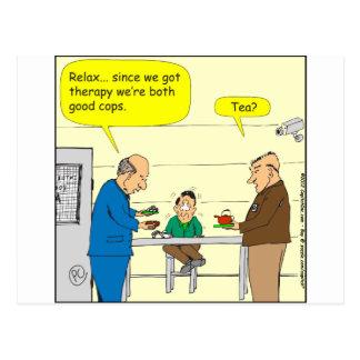 dibujo animado de 302 buen polis postal