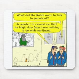 dibujo animado de 361 alto días santos alfombrilla de ratón