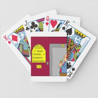 dibujo animado de 538 escaleras baraja de cartas