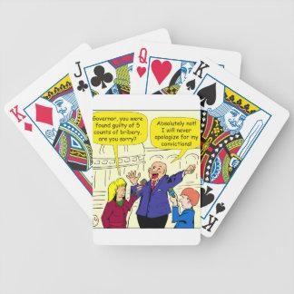 dibujo animado de 836 convicciones baraja de cartas