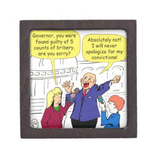 dibujo animado de 836 convicciones caja de recuerdo de calidad