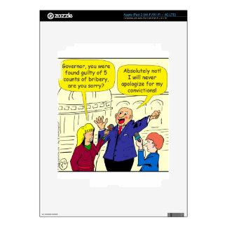 dibujo animado de 836 convicciones pegatinas skins para iPad 3
