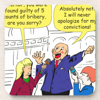 dibujo animado de 836 convicciones posavasos