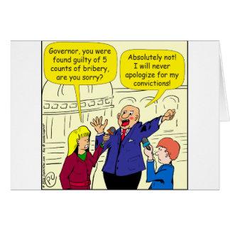 dibujo animado de 836 convicciones tarjeta de felicitación