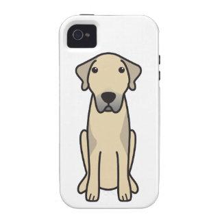Dibujo animado de Anatolia del perro de pastor iPhone 4 Carcasa