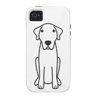 Dibujo animado de Anatolia del perro de pastor iPhone 4/4S Carcasa