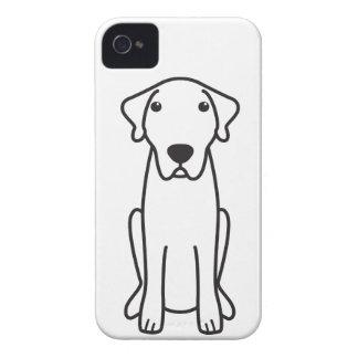 Dibujo animado de Anatolia del perro de pastor iPhone 4 Case-Mate Carcasa