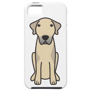 Dibujo animado de Anatolia del perro de pastor iPhone 5 Cárcasa