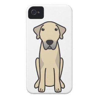 Dibujo animado de Anatolia del perro de pastor iPhone 4 Cárcasas