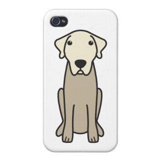 Dibujo animado de Anatolia del perro de pastor iPhone 4 Funda