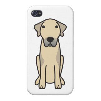 Dibujo animado de Anatolia del perro de pastor iPhone 4/4S Funda