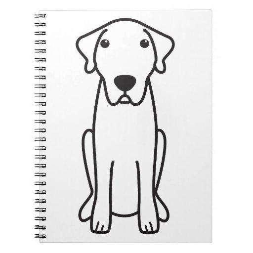 Dibujo animado de Anatolia del perro de pastor Libreta