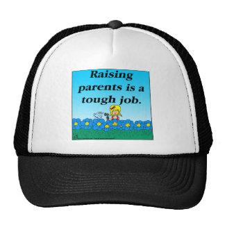 Dibujo animado de aumento de 800 padres gorras de camionero