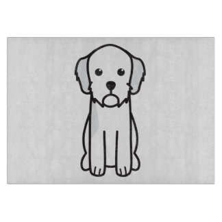 Dibujo animado de Basset Fauve de Bretaña Dog Tablas De Cortar