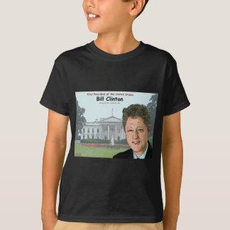 Dibujo animado de Bill Clinton Playera