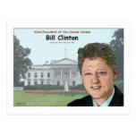 Dibujo animado de Bill Clinton Postales