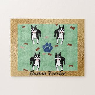 Dibujo animado de Boston Terrier Puzzles