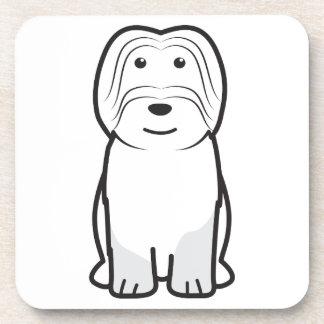 Dibujo animado de Cão DA Serra de Aires Dog Posavasos De Bebida