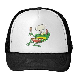 dibujo animado de cocinar tonto divertido de la ra gorras de camionero