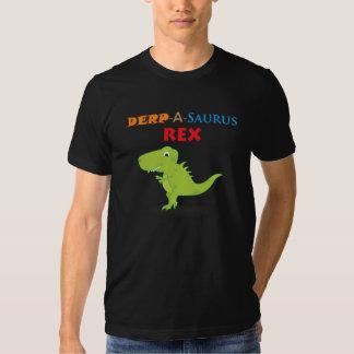 Dibujo animado de Derpy Dino Camisas