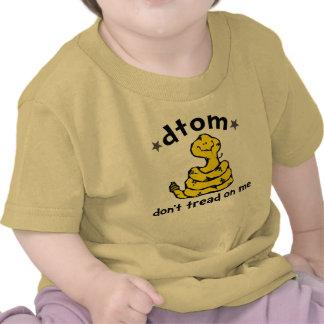 Dibujo animado de DTOM Camiseta