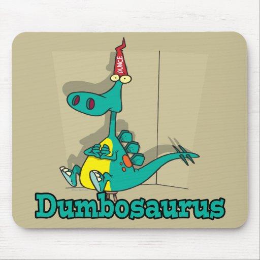 Dibujo animado de Dumbosaurus Dino Tapete De Ratones