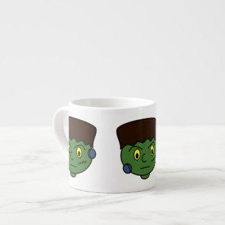 Dibujo animado de Frankenstein Halloween Taza Espresso