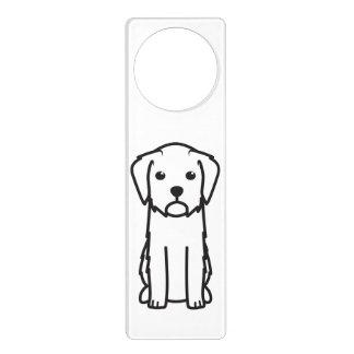 Dibujo animado de Griffon Fauve de Bretaña Dog Colgadores Para Puertas